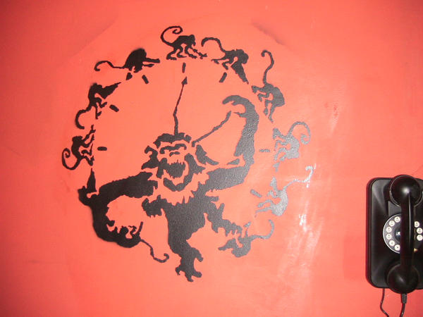 Twelve Monkeys wall stencil by marcobat16 on DeviantArt