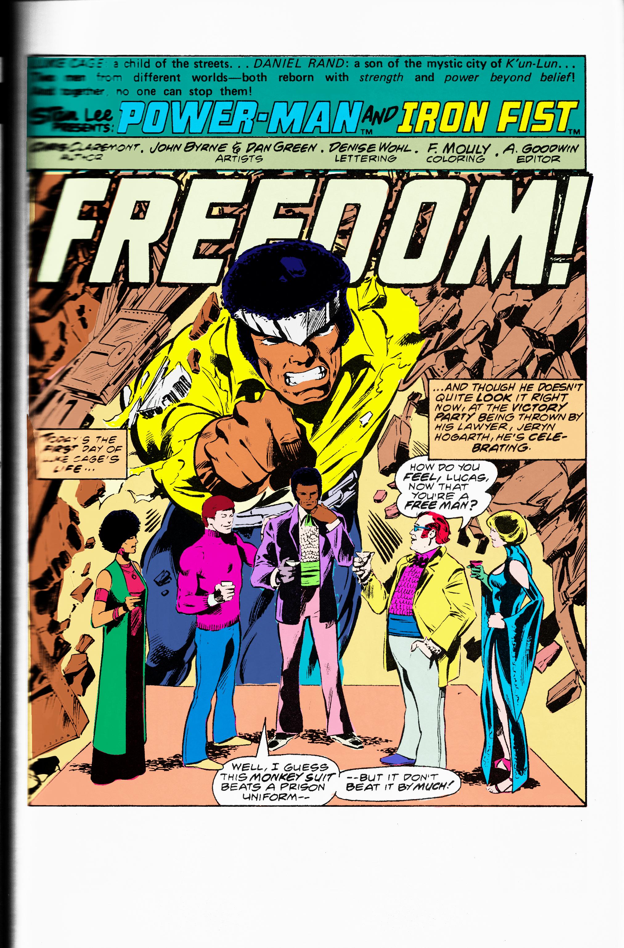 Powerman and iron fist 50