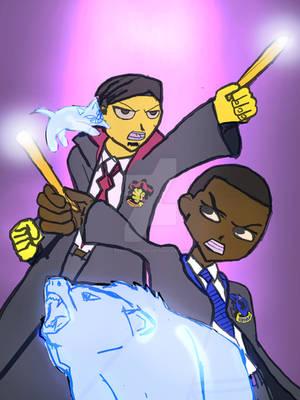 Hogwarts Students Complete 18x24