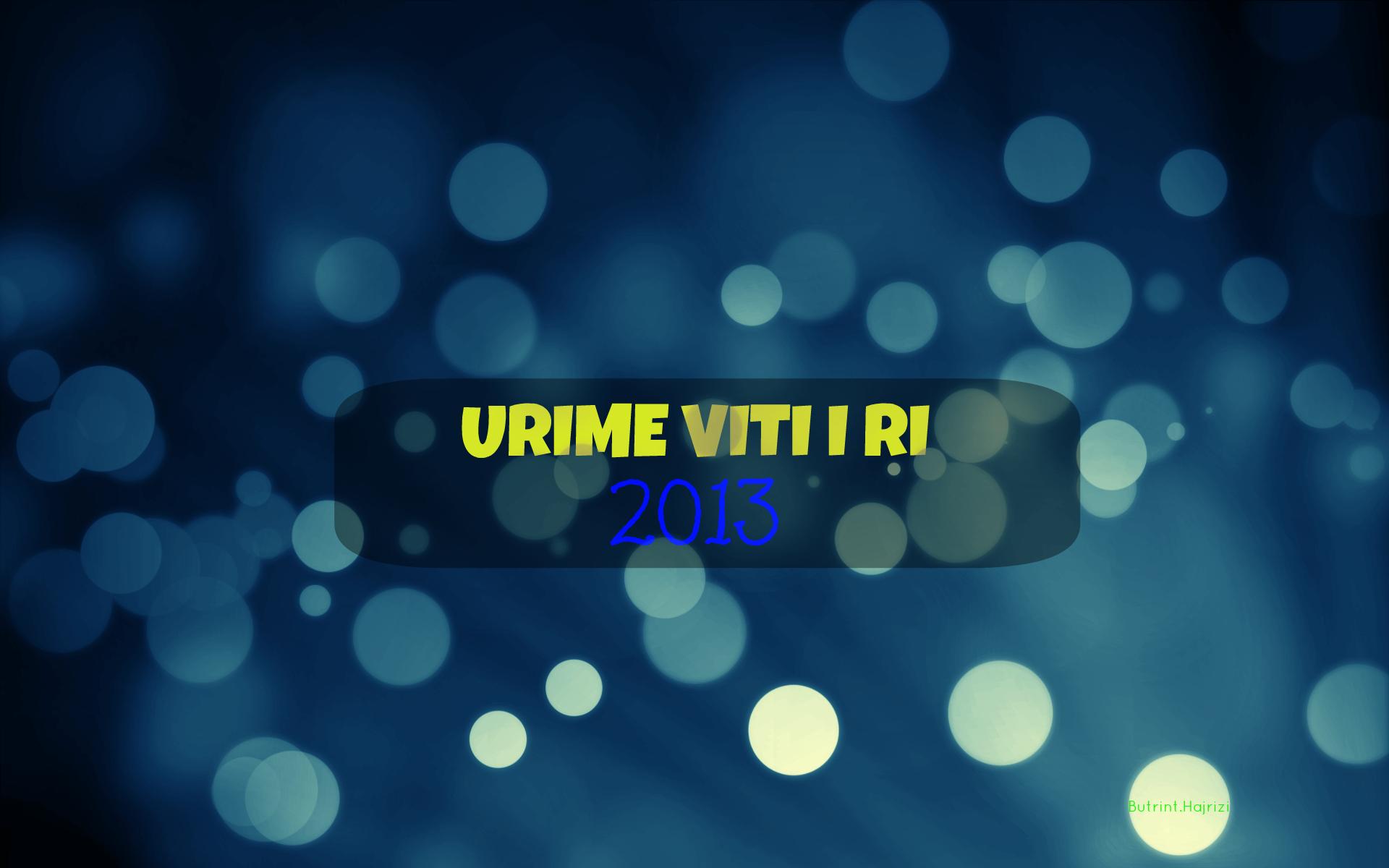 Urime viti i ri 2013 - Happy New Year 2013 by ButrintHajrizi on ...
