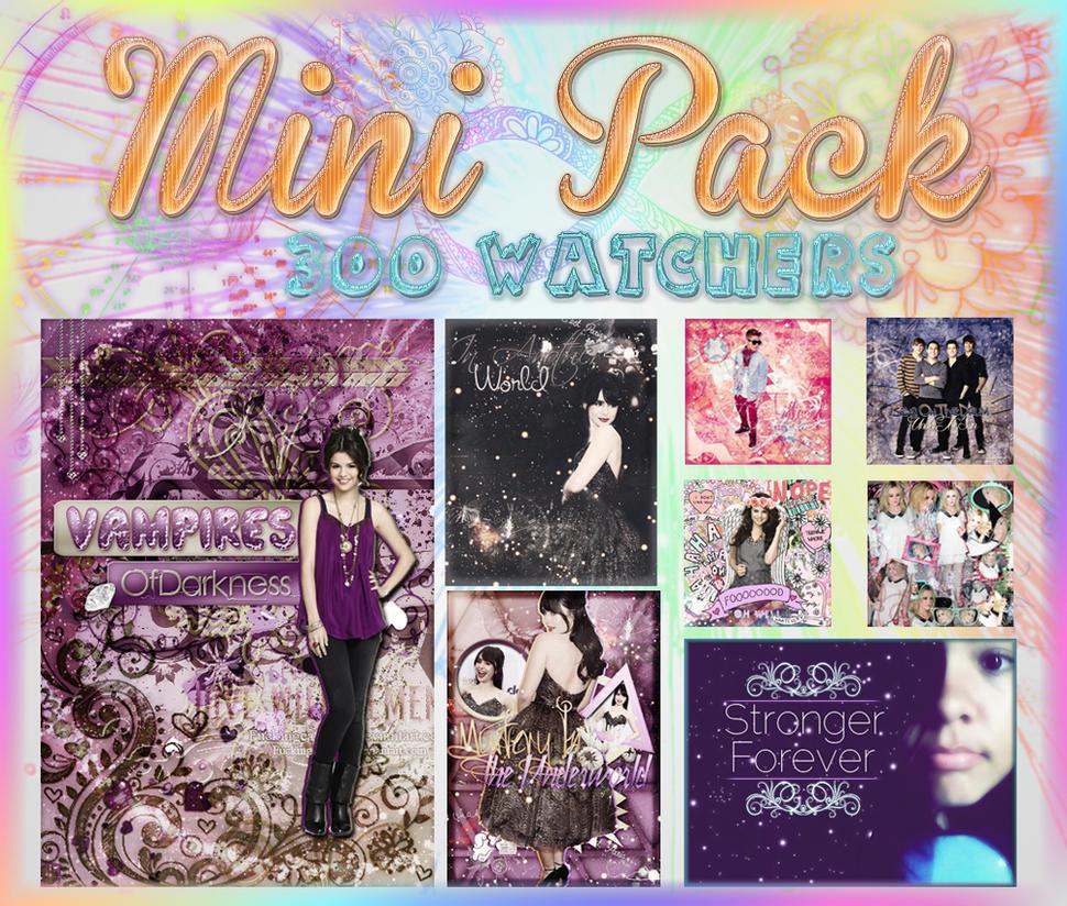 +Mini pack {300 Watchers} by FiestaEnGrandeBTR