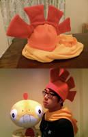 Scrafty Fleece Hat and Hood by Dionashi