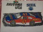 Daytona USA car