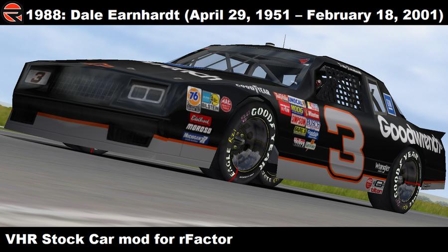 Dale Earnhardt Car Number