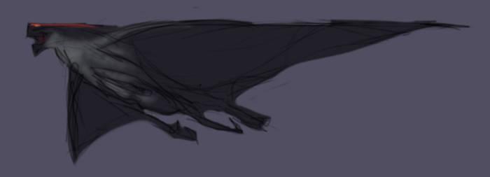 Winged MUTO - WIP