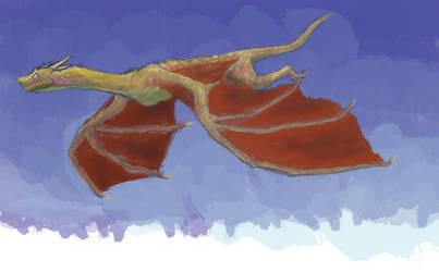Dragon In The Sky by Pulsarium