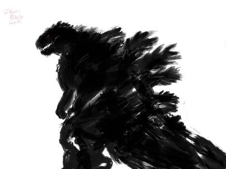 Godzilla Doodle 8/26 2