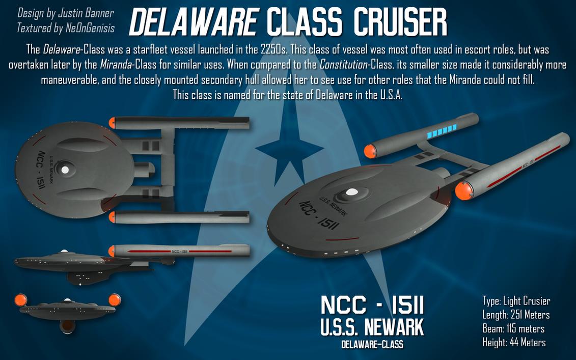 Delaware-Class Light Cruiser by Pulsarium