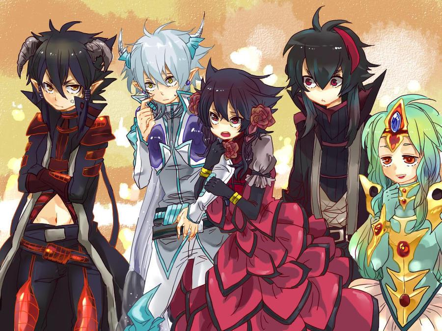 Yu Gi Oh 5Ds Signer Dragons by TyphlosionrockerYugioh 5ds Dragon Wallpaper