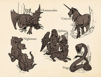 Inteligent Beasts by SHininMysticice