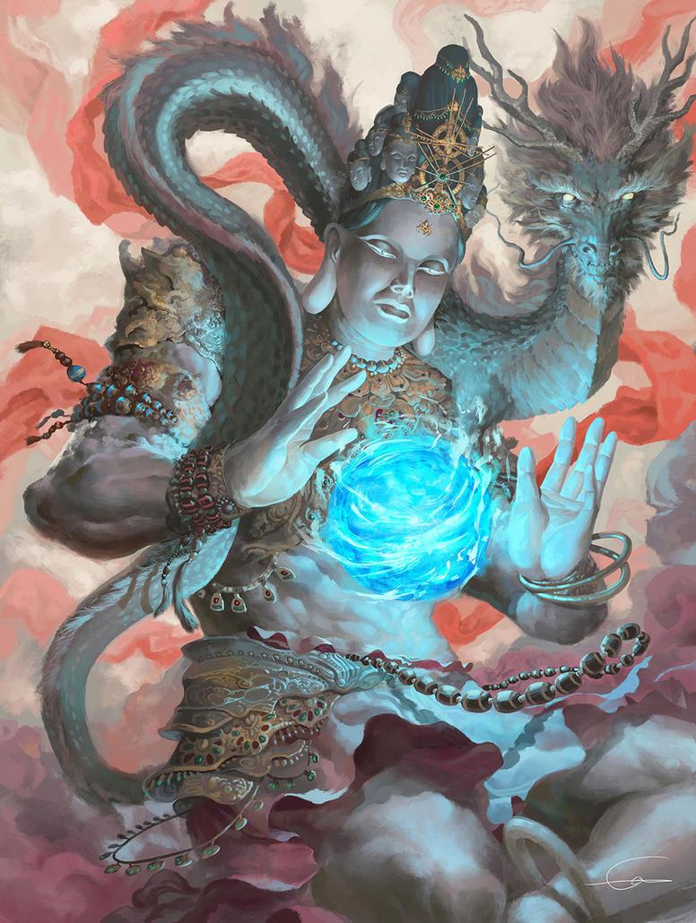 Akro Devnm Indrah by Ultraman0716chen