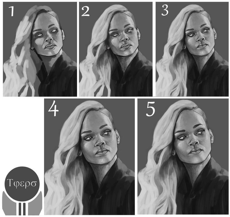 The Rihanna Process by TonyJeffers