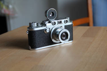 My grandfather's Leica by angelace9