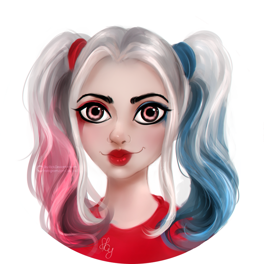 Harley Quinn by Sky-Rick