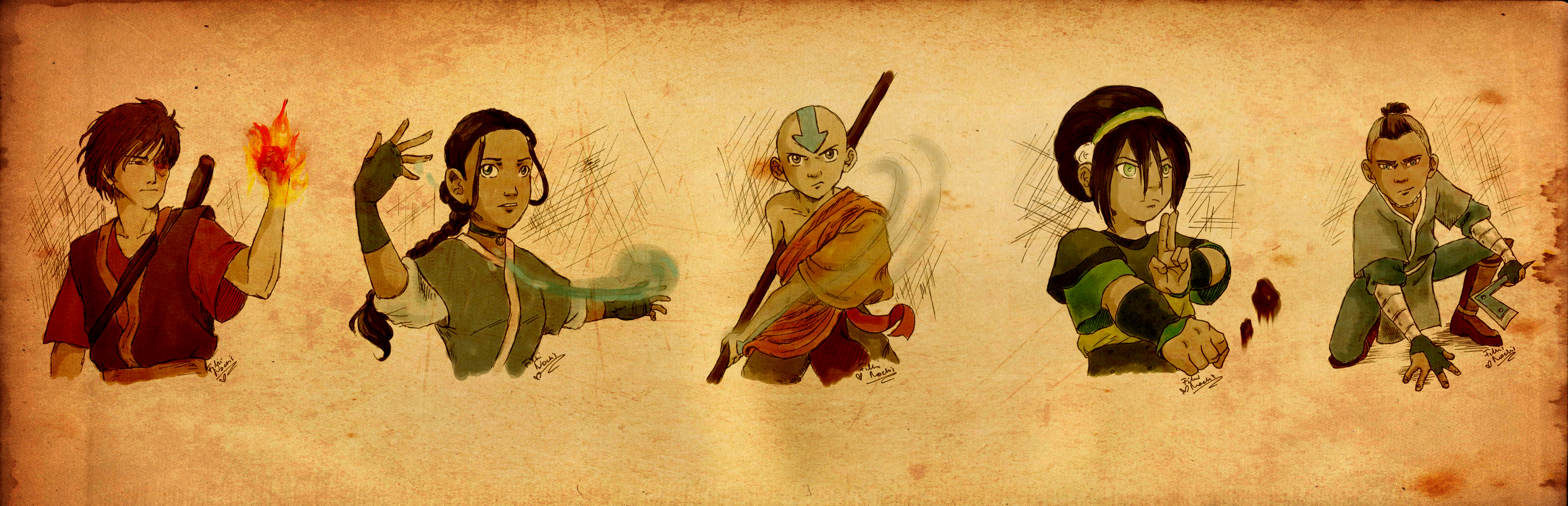 LivingAliveCreator 402 116 Avatar The Last Airbender By FilliNoctis