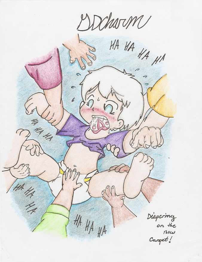 Forced Diapering from All-Sides! (Request) by SDCharm