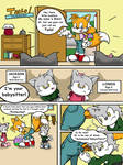 Tails the Babysitter! - Page 1 of 10
