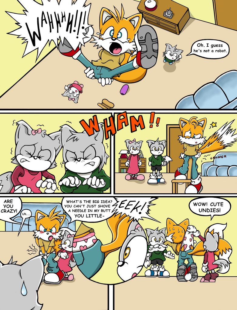 Tails the Babysitter! - Page 2 of 10 by SDCharm
