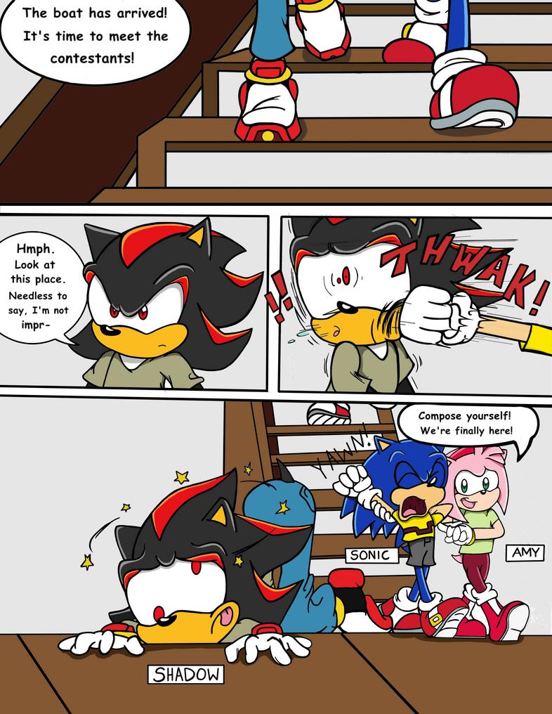Sonic Survivor Island - Pg.2: Arrival by SDCharm