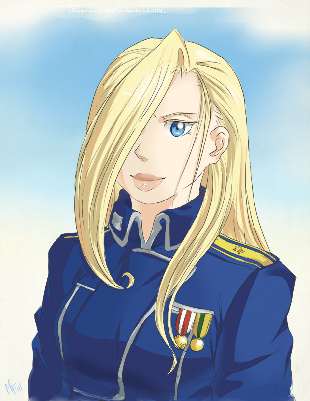 Olivier Mira Armstrong by Mistrel-Fox