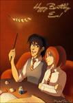 ::Gift:: Wingardium Leviosa by Mistrel-Fox