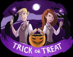 KP - Trick or Treat by Mistrel-Fox