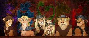 Riders and Defenders of Berk