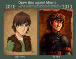Draw this again - Hiccup