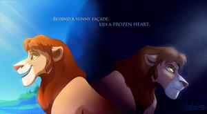 Warm facade, Frozen heart by Mistrel-Fox