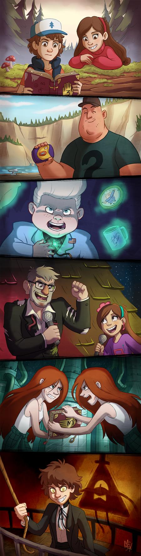 Gravity Falls! by Mistrel-Fox