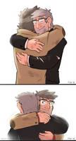 ::GF:: glad you're okay by Mistrel-Fox