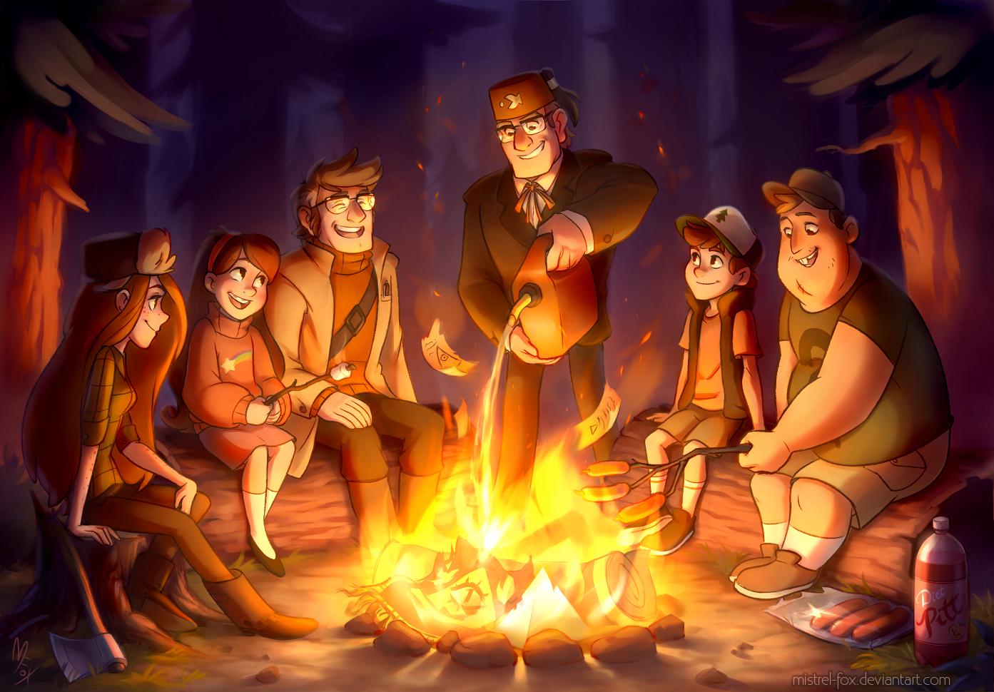 ::GF:: Last campfire of the summer