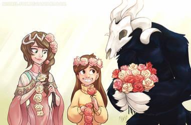 CM - Flower crowns by Mistrel-Fox