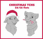 Christmas YCHs [OPEN/FIXED LINEART] by Mistrel-Fox