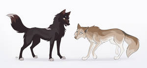 [CM] Raven and Fawn