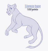 [P2U] TLK lioness base (2 in 1)