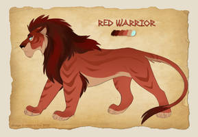 Red warrior [Auction OPEN]