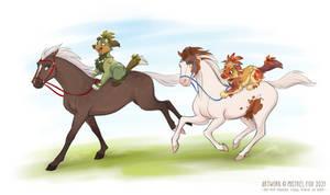 [CM] Horseback riding