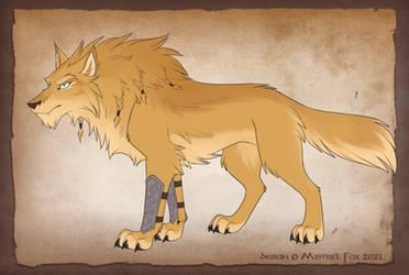 [CM] Dwarf wolf