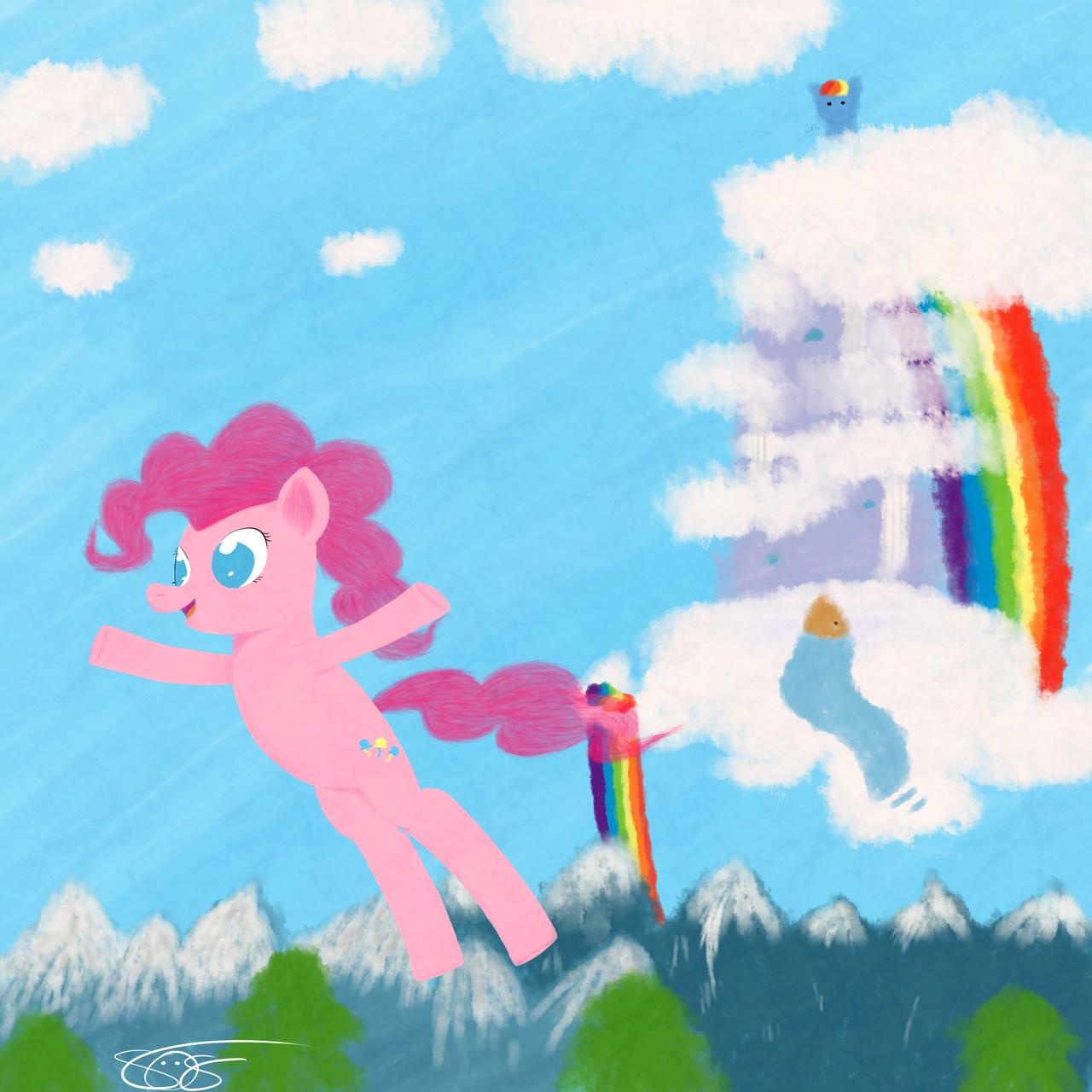 Pinkie_018(Free Falling) by aruigus808