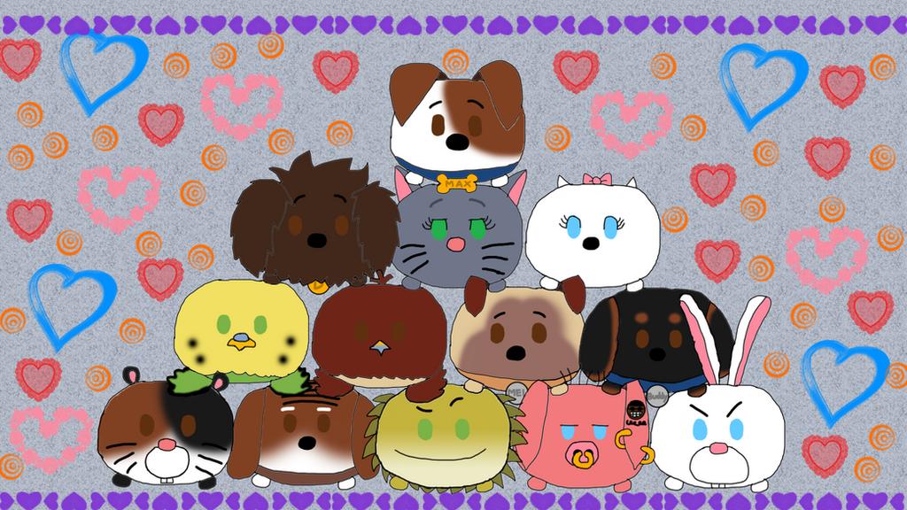 Tsum tsum the secret life of pets by princess sackboy3659 for Tattoo secret life of pets