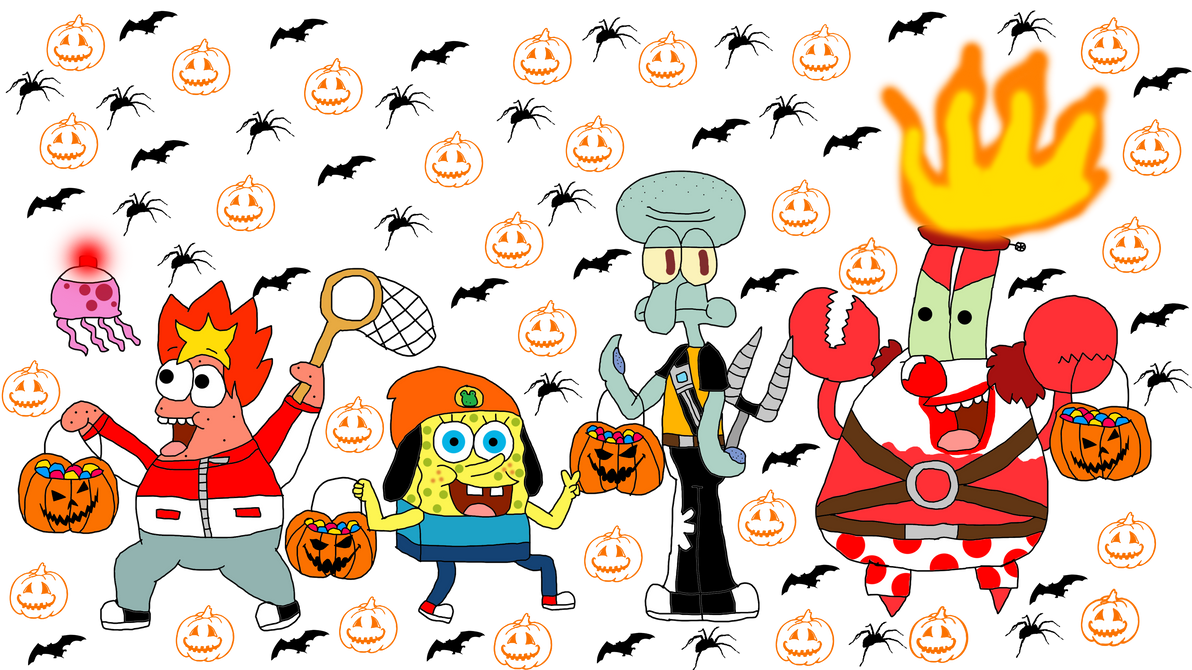 8 days before Halloween- SpongeBob (Day 6) by Princess-Sackboy3659 ...
