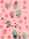 Cookie Run Babies AU characters (part 1)