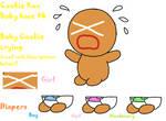 Cookie Run Baby base 4 (Cries). READ DESCRIPTION