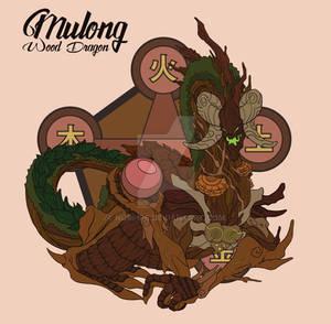 Mulong the wood dragon