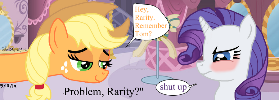 Remember Tom? by lcponymerch