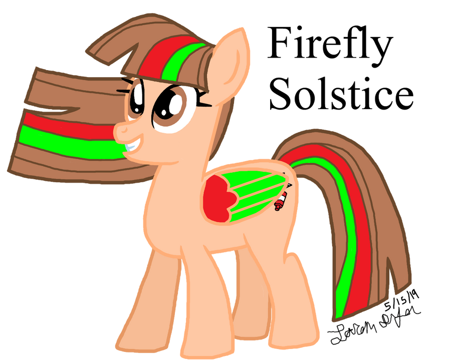 Commission: Firefly Solstice by lcponymerch