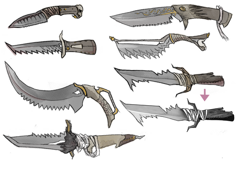 Knife concepts