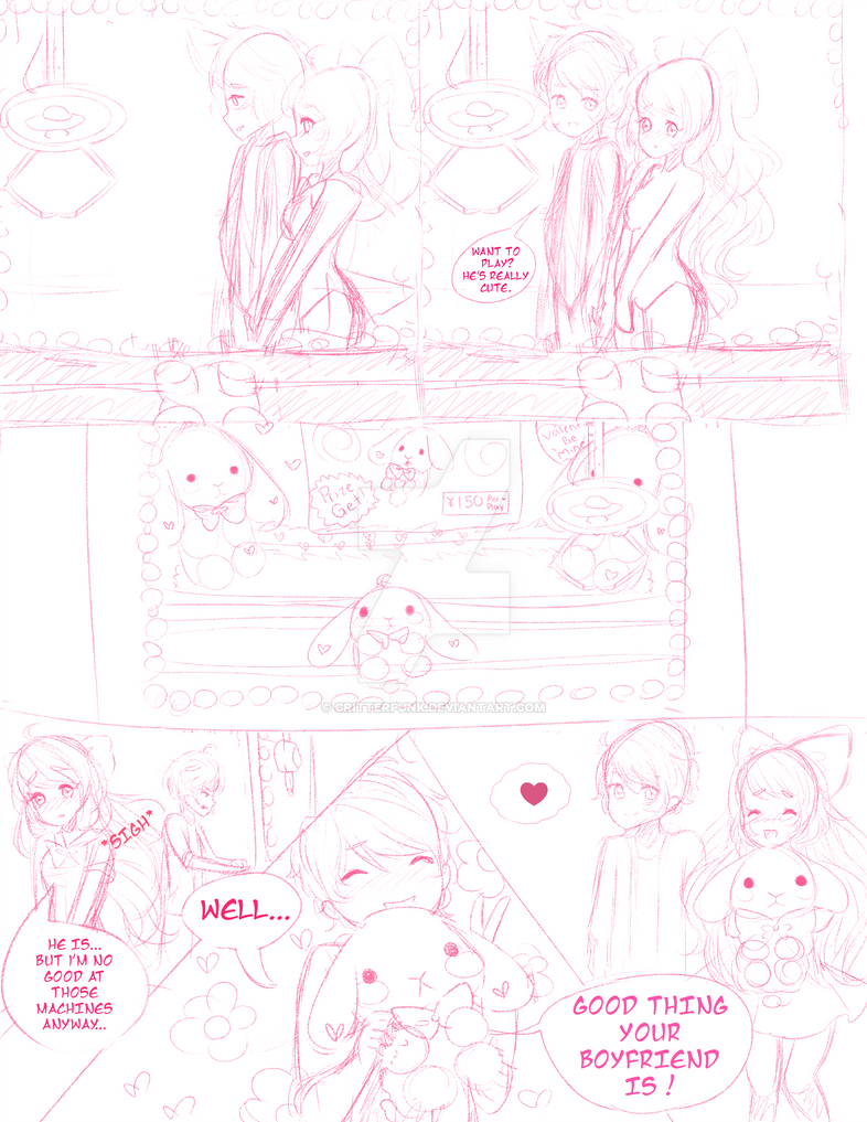 Closed Ych Comic Valentines Day Crane Game By Critterpunk On Deviantart