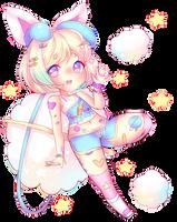 Cutie Puff + SPEEDPAINT by CritterPunk